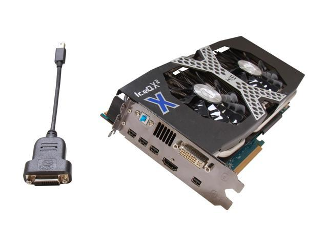HIS X Radeon HD 7970 GHz Edition DirectX 11 H797QMG3G 3GB 384-Bit GDDR5 PCI Express 3.0 x16 HDCP Ready CrossFireX Support Video Card