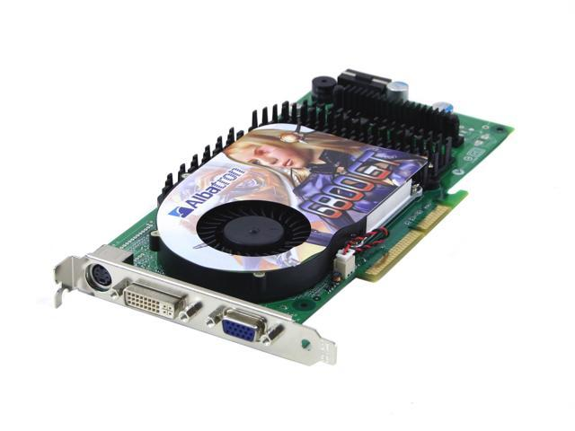 Albatron GeForce 6800GT DirectX 9 256MB 256 Bit GDDR3 AGP 4X 8X Video