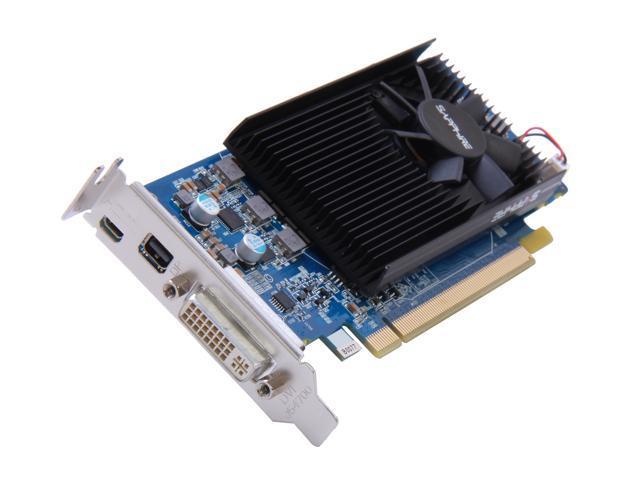 SAPPHIRE Radeon HD 7750 DirectX 11 100357LP 1GB 128-Bit