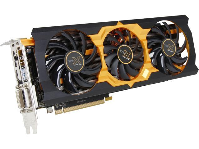 SAPPHIRE Radeon R9 280X 100363-4L 3GB 384-Bit GDDR5 PCI Express 3.0 CrossFireX Support Video Card Tri-X OC version