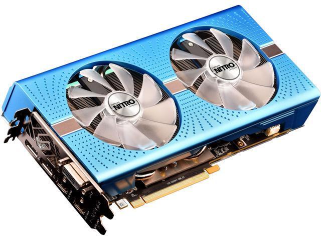 Sapphire Radeon NITRO+ RX 590 8GB GDDR5 PCI-E Dual HDMI / DVI-D / Dual DP OC w/ Backplate SPECIAL EDITION