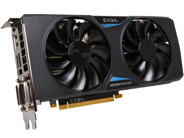 EVGA GeForce GTX 970 04G-P4-2978-KR 4GB FTW GAMING w/ACX 2 0, Silent  Cooling Graphics Card - Newegg com