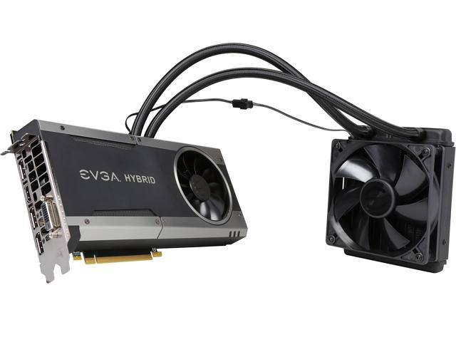 EVGA GeForce GTX 1070 FTW HYBRID GAMING, 08G-P4-6278-KR, 8GB GDDR5, RGB  LED, All-In-One Watercooling with 10CM FAN, 10 Power Phases, Double BIOS,  DX12