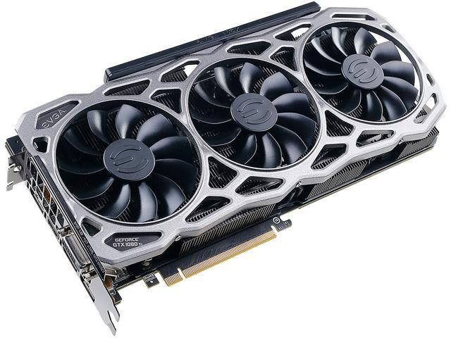 EVGA GeForce GTX 1080 Ti FTW3 DT DirectX 12 11G-P4-6694-KR 11GB 352-Bit GDDR5X PCI Express 3.0 HDCP Ready SLI Support Video Card