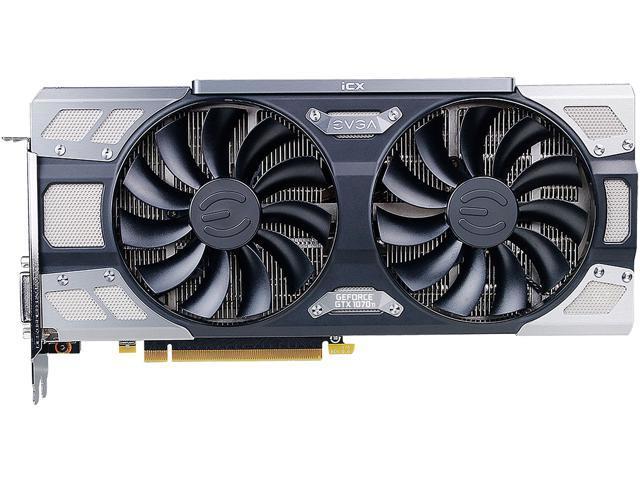 EVGA GeForce GTX 1070 Ti FTW2 GAMING 08G-P4-6775-KR, 8GB GDDR5 iCX - 9  Thermal Sensors & RGB LED G/P/M - Newegg com