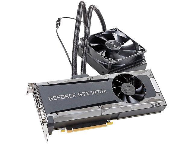 EVGA GeForce GTX 1070 Ti GAMING 08G-P4-5678-KR 8GB GDDR5 SC HYBRID & LED -  Newegg com