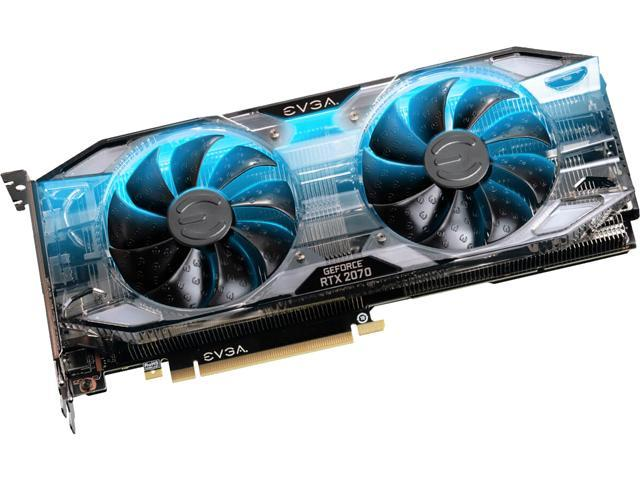 EVGA GeForce RTX 2070 XC GAMING, 08G-P4-2172-KR, 8GB GDDR6, Dual HDB Fans & RGB LED