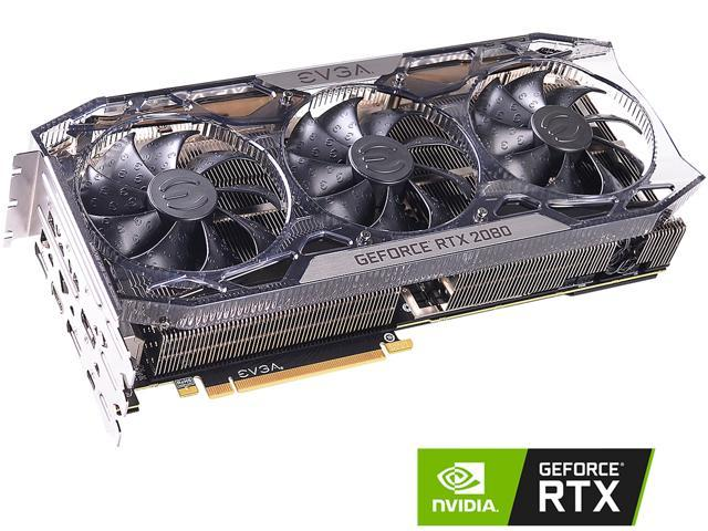 EVGA GeForce RTX 2080 FTW3 ULTRA GAMING, 08G-P4-2287-KR, 8GB GDDR6, iCX2 &  RGB LED - Newegg com