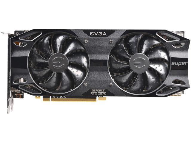 EVGA GeForce RTX 2070 SUPER BLACK GAMING, 08G-P4-3071-KR, 8GB GDDR6 -  Newegg com