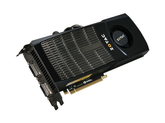20018dba8b0 ZOTAC GeForce GTX 480 (Fermi) DirectX 11 ZT-40101-10P 1536MB 384