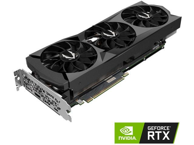 ZOTAC GAMING GeForce RTX 2080 AMP 8GB GDDR6 256-bit Gaming Graphics Card, Active Fan Control, Metal Backplate, Spectra Lighting (ZT-T20800D-10P)