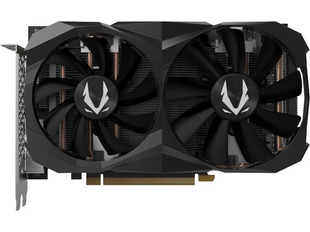 ZOTAC GAMING GeForce RTX 2060 6GB GDDR6 192-bit Gaming Graphics Card, Super Compact, ZT-T20600K-10M