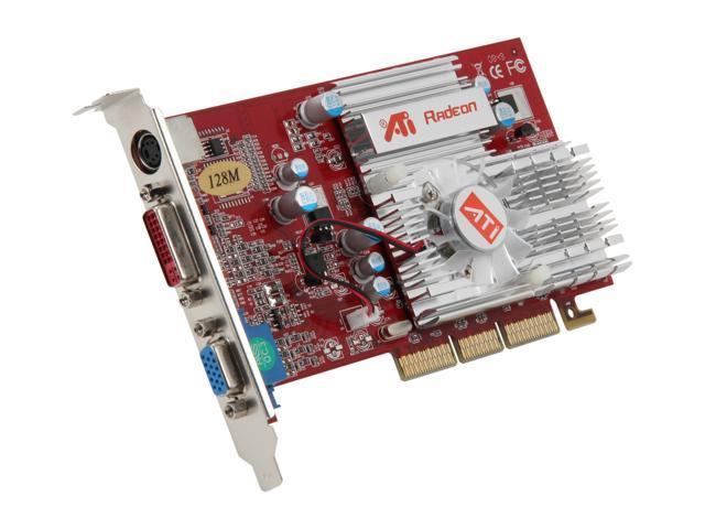DIABLOTEK Radeon 9200 V9200 128A 128MB DDR AGP 4X 8X Video Card
