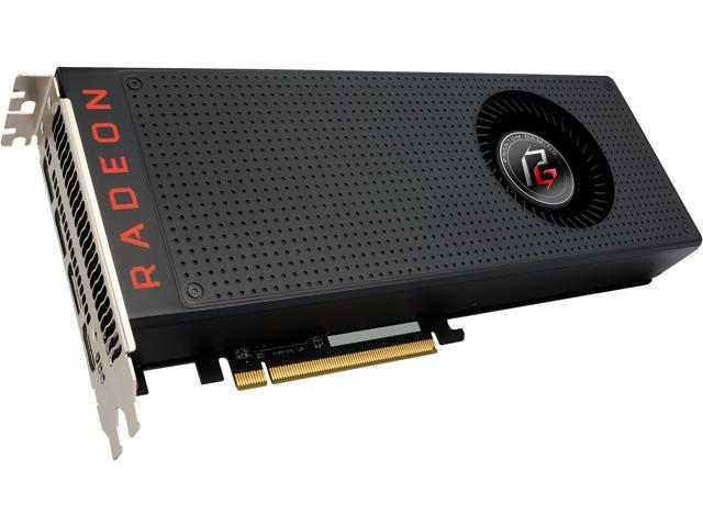 ASRock Phantom Gaming X Radeon RX Vega 56 DirectX 12 RX VEGA 56 8G 8GB 2048-Bit HBM2 PCI Express 3.0 x16 HDCP Ready Video Card