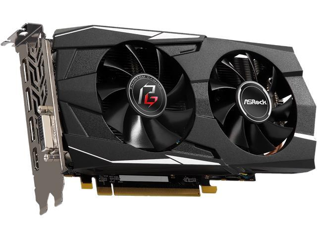 ASRock Phantom Gaming D Radeon RX 570 DirectX 12 RX570 4G Video Card -  Newegg com