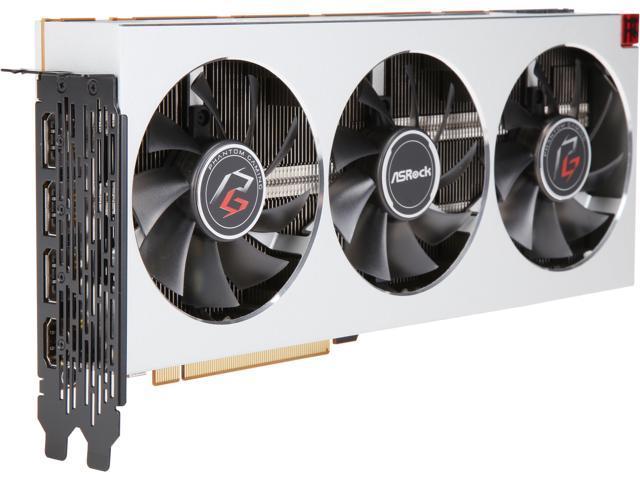 ASRock Phantom Gaming X Radeon VII DirectX 12 Radeon VII 16G Video Card -  Newegg com