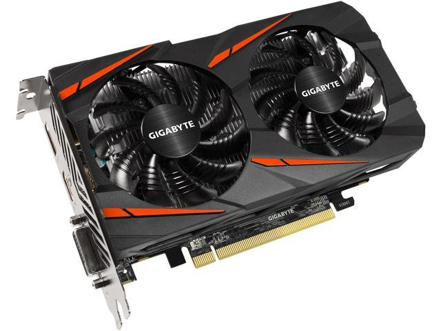 GIGABYTE Radeon RX 560 16CU DirectX 12 GV-RX560GAMING OC-4GD REV2.0 4GB 128-Bit GDDR5 ATX Video Card