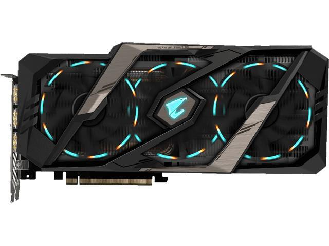 2873d22efa5 GIGABYTE AORUS GeForce RTX 2080 TI DirectX 12 GV-N208TAORUS X-11GC Video  Card