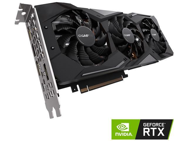 GIGABYTE GeForce RTX 2070 GAMING OC 8G Graphics Card, 3 x WINDFORCE Fans,  8GB 256-Bit GDDR6, GV-N2070GAMING OC-8GC Video Card - Newegg com