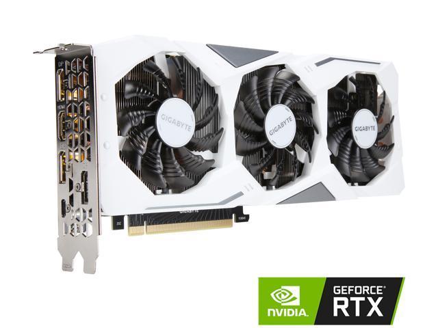 GIGABYTE GeForce RTX 2070 GAMING OC WHITE 8G Graphics Card, 3 x WINDFORCE  Fans, 8GB 256-Bit GDDR6, GV-N2070GAMINGOC WHITE-8GC Video Card - Newegg com