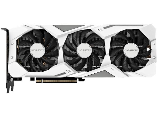 GIGABYTE GeForce RTX 2060 DirectX 12 GV-N2060GAMINGOC PRO WHITE-6GD 6GB 192-Bit GDDR6 PCI Express 3.0 x16 ATX Video Card