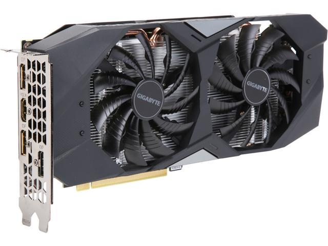 GIGABYTE GeForce RTX 2060 WINDFORCE 6G Graphics Card, 2 x WINDFORCE Fans, 6GB 192-Bit GDDR6, GV-N2060WF2-6GD Video Card