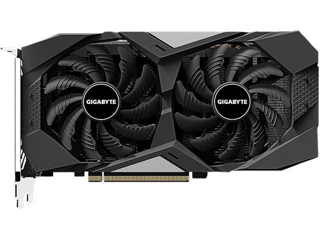 GIGABYTE GeForce GTX 1650 SUPER WINDFORCE OC 4G Graphics Card, 2 x WINDFORCE Fans, 4GB 128-Bit GDDR6, GV-N165SWF2OC-4GD Video Card
