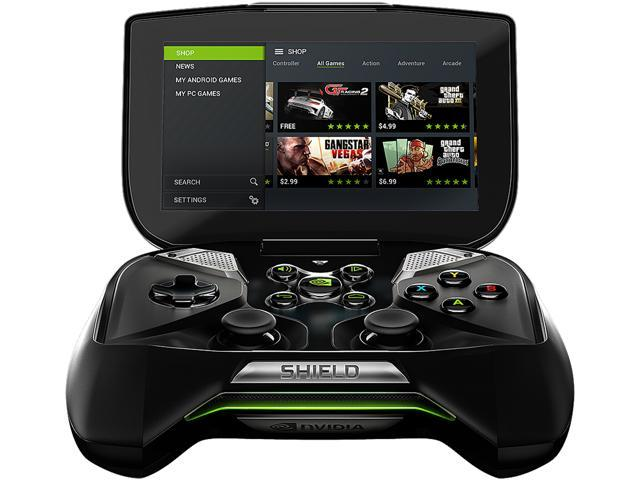 Open Box: NVIDIA Nvidia Shield Handheld Portable 16gb Model SHIELD Portable  - Newegg com