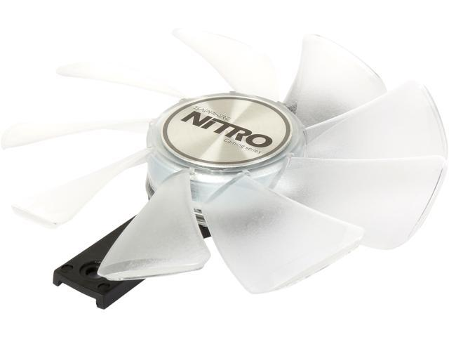 SAPPHIRE NITRO Gear LED Fan (White Color) Model 4N001-03-20G - Newegg com