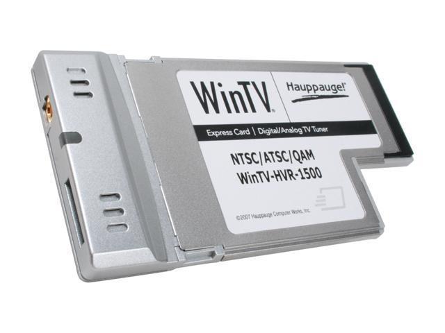 HAUPPAUGE WINTV HVR-1500 DRIVER FOR WINDOWS MAC