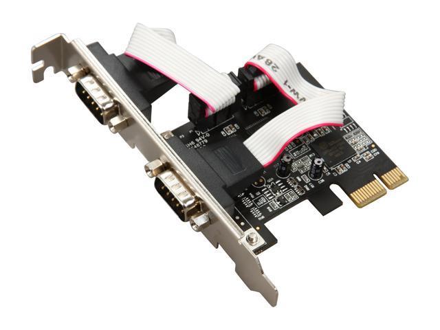 Rosewill RC-301EU - 2-Port PCIe Serial Card