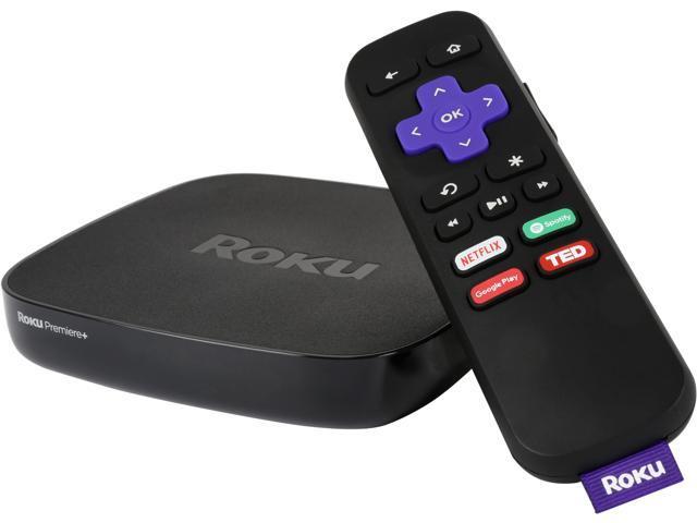 Refurbished: Roku Premiere+ Plus 4630X 4K HDR Streaming Media Player -  Newegg com