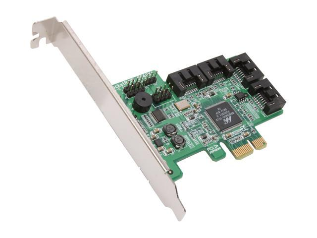 HighPoint RocketRAID 2640x1 PCI-Express x1 Four-Port SATA and SAS RAID  Controller Card - Newegg com