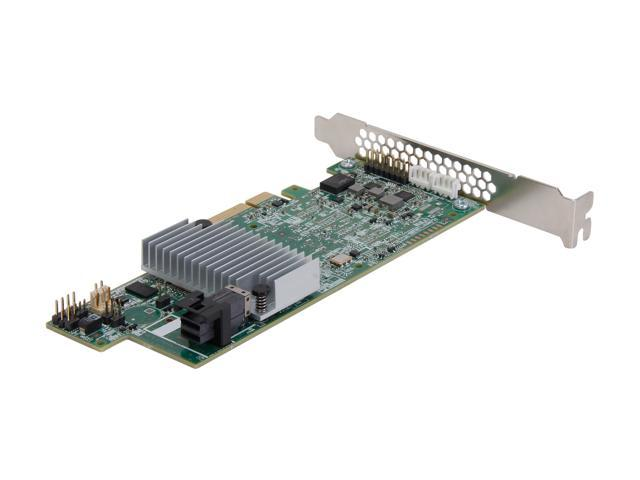 LSI 9300 MegaRAID SAS 9361-4i (LSI00415) PCI-Express 3.0 x8 SATA / SAS High Performance Four-Port 12Gb/s RAID Controller ...