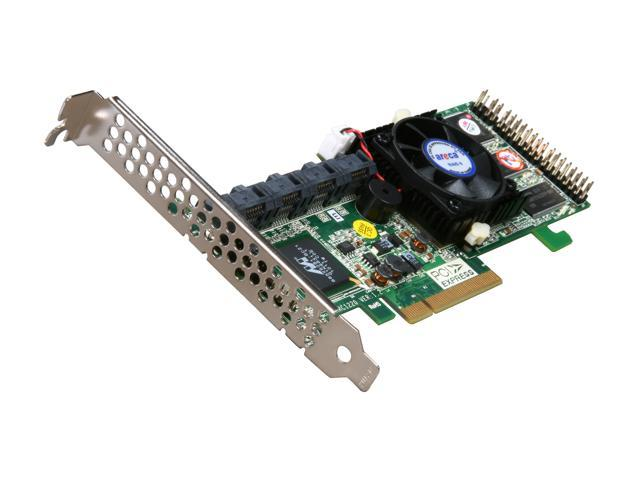 areca ARC-1220 PCI-Express x8 SATA II (3 0Gb/s) Controller Card - Newegg com