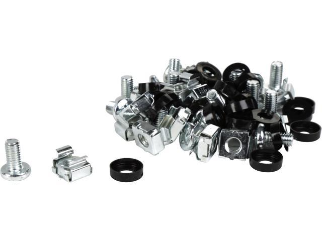 Rosewill M6 Server Cage Nuts and Mounting Screws (20-pk)