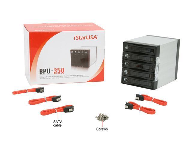 iStarUSA BPU-350SATA-BLACK 3x5.25