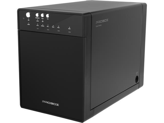 mediasonic hf7 su3s3 probox 4 bay 3 5 sata hard drive enclosure rh newegg com