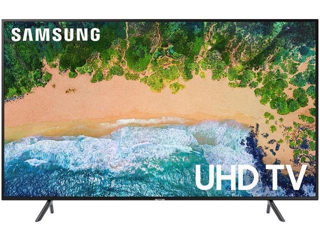 "Samsung NU7100 55"" 4K UHD HDR Smart TV UN55NU7100FXZA (2018)"