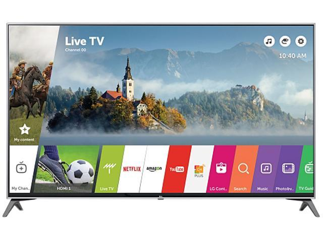 LG 60UJ7700 60-Inch 4K UHD Smart TV with HDR (2017) - Newegg com