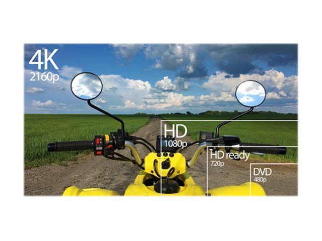 """RCA RNSMU5536 54.5"""" 2160p Smart LED-LCD TV - 16:9 - 4K UHDTV - Black"""