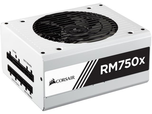 CORSAIR RM750x White CP-9020155-NA 750W ATX12V / EPS12V 80 PLUS GOLD  Certified Full Modular Power Supply - Newegg com