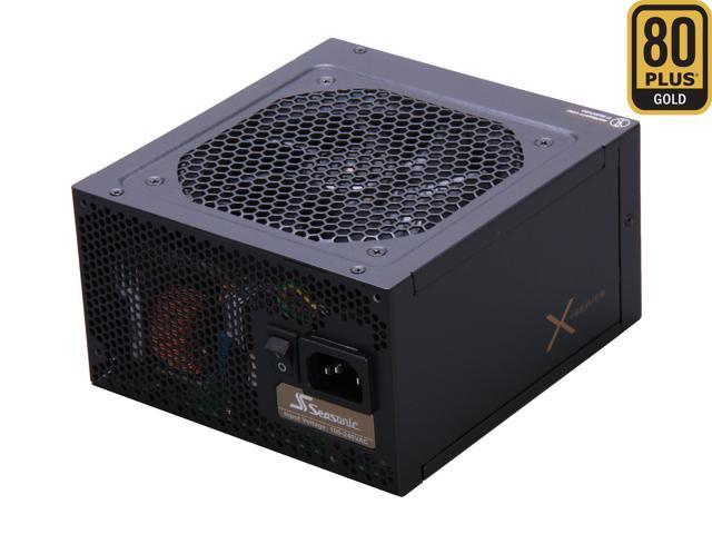 SeaSonic X Series X650 Gold (SS-650KM Active PFC F3) 650W ATX12V V2.3/EPS 12V V2.91 SLI Ready CrossFire Ready 80 PLUS GOLD Certified Full Modular Active PFC Power Supply New 4th Gen CPU Certified