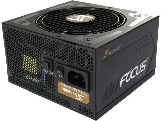 Seasonic FOCUS Plus Series SSR-850FX 850W 80+ Gold ATX12V & EPS12V Full Modular 120mm FDB Fan Compact 140 mm Size Power Supply