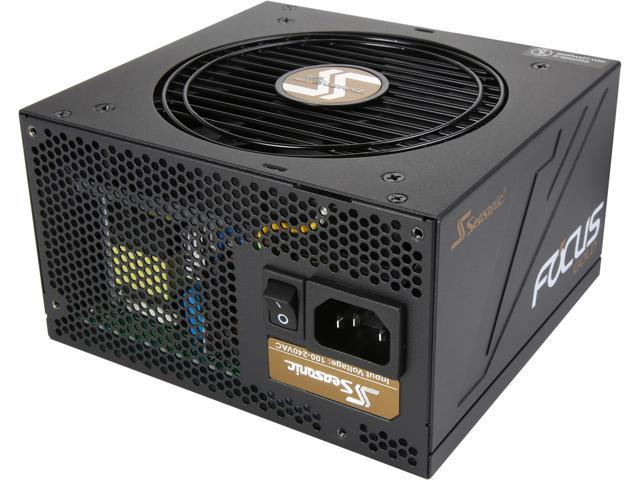 Seasonic FOCUS Gold Series SSR-650FM 650W 80 + Gold Power Supply, Semi-Modular, ATX12V/EPS12V, Compact 140 mm Size, 7 yr warranty