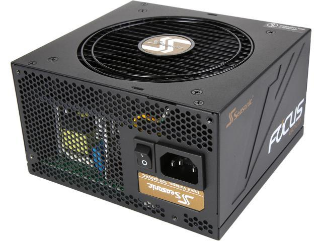 Seasonic FOCUS series SSR-450FM 450W 80 + Gold Power Supply, Semi-Modular, ATX12V/EPS12V, Compact 140 mm Size, 7 yr warranty