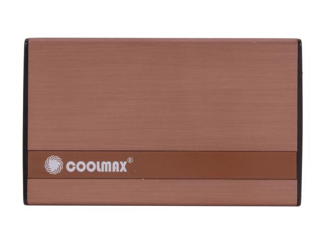 "2.5/"" Coolmax USB 2.0 Aluminum External SATA HDD Enclosure Brand New Pack of 10"