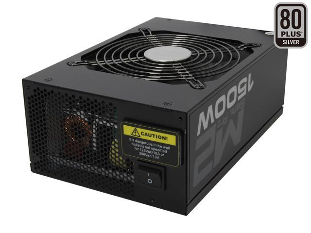 Cooler Master Silent Pro M2 - 1500W Power Supply with 80 PLUS Silver Certification and Semi-Modular Cables