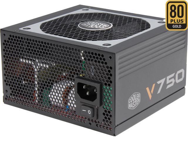 Cooler Master V750 - Compact 750W 80 PLUS Gold Modular PSU (6th Generation  Skylake Compatible) - Newegg com