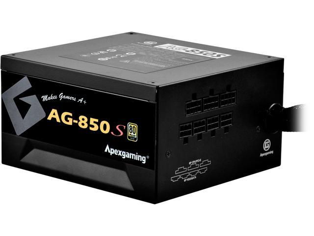 414a5b0468 APEXGAMING AG Series Gaming Power Supply (AG-850S), 850W 80 Plus Gold